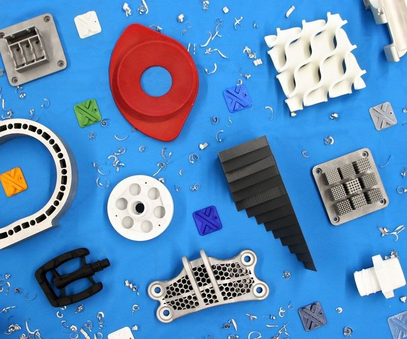 various parts made by Xometry