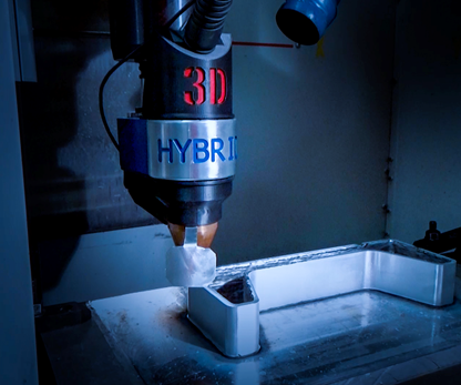 3D-Hybrid wire-arc additive manufacturing tool