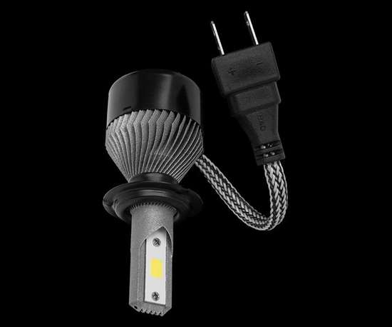 Automotive LED Headlight / Redesigned LPBF Heatsink, compatible with aftermarket design.