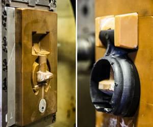 Magnetic 3D Printing with Fiber Reinforcement Fills Tooling Gap