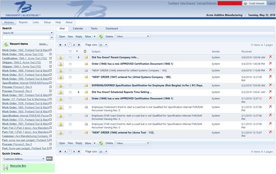 Bluestreak screenshot