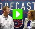 Ken Burns, Technical Sales Director, Forecast 3D; Stephanie Hendrixson, Senior Editor, Additive Manufacturing magazine