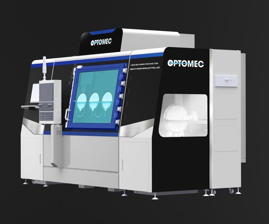 Optomec LENS 860 hybrid