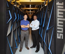 John Turner, leader of the Computational Engineering & Energy Sciences Group at Oak Ridge National Laboratory (ORNL), and Suresh Babu, University of Tennessee/ORNL Governor's Chair of Advanced Manufacturing