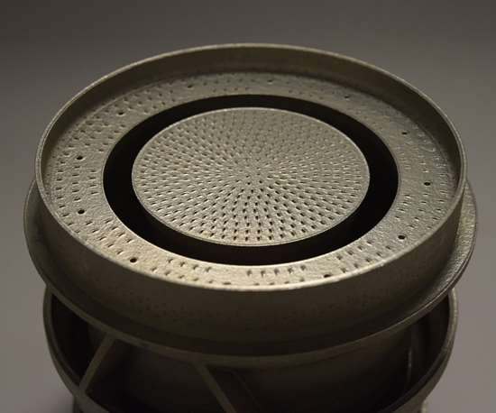 3D-printed dry low emission (DLE) pre-mixer for the SGT-A05 gas turbine