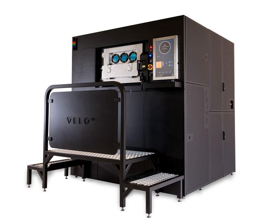 Velo3D Sapphire metal 3D printer