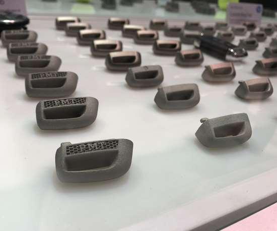 3D-printed Volkswagen key fobs