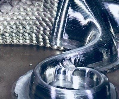 hybrid manufactured part