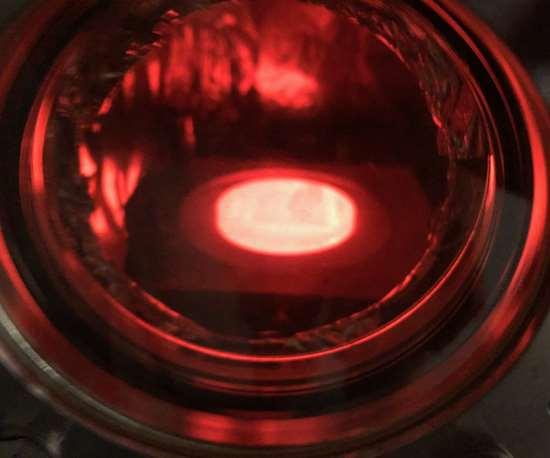 Freemelt One during electron beam melting process