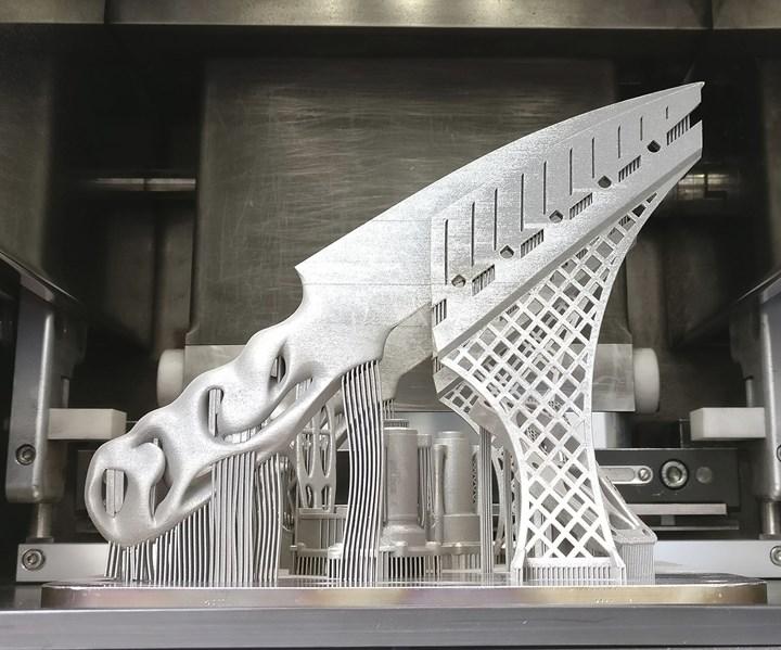 metal 3d printed knife