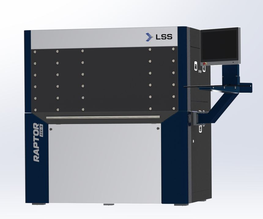 LSS Laser-Sinter-Service Raptor 22X-S