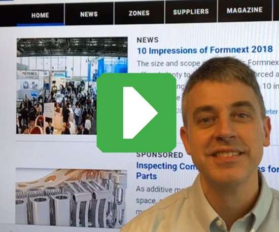 Peter Zelinski, Editor in Chief, Additive Manufacturing