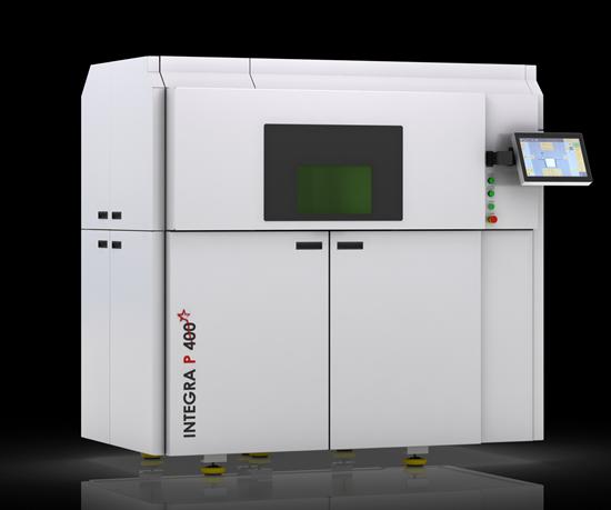 Integra P 400 polymer additive manufacturing platform.