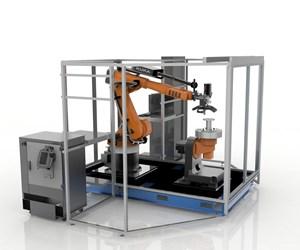 Stratasys' Robotic Composite 3D Demonstrator.