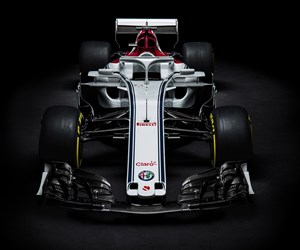 C37 2018 Alfa Romeo Sauber F1 Team race car