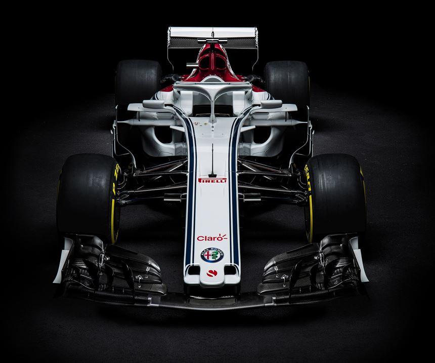 C37 2018 Alfa Romeo Sauber F1 Team race car