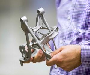 3D printed seat bracket GM Additive manufacturing magazine