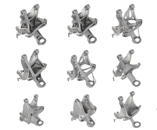GM design iterations for additive manufacturing magazine