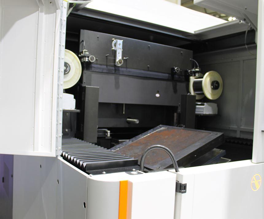 GF Machining Solution's CUT AM 500 wire EDM machin
