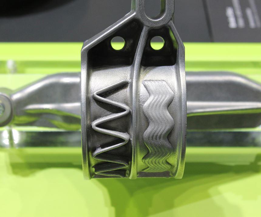 Laser metal deposition on gear suspension