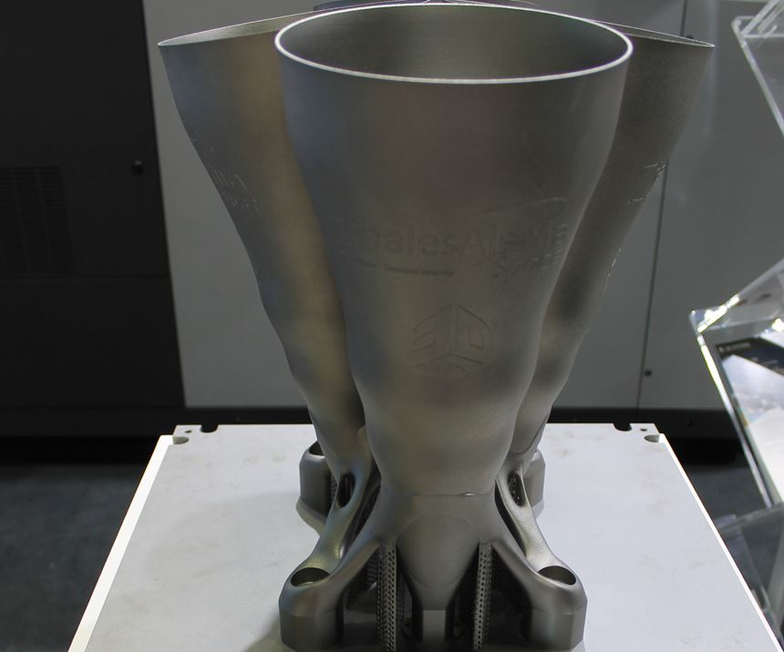 horn radiator made for Thales Alenia Space