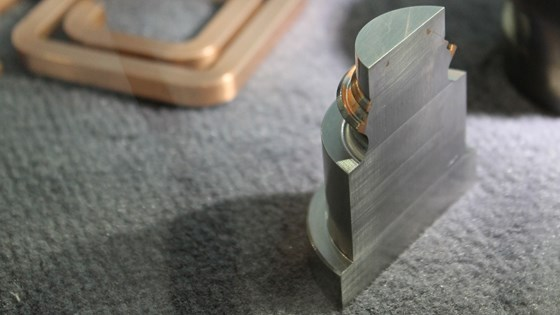 Hermle MPA process combines copper with steel