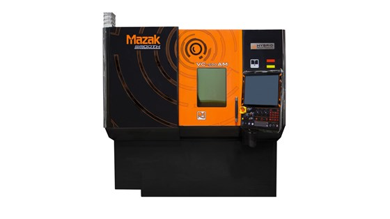 Mazak VC-500 AM hybrid multitasking machine