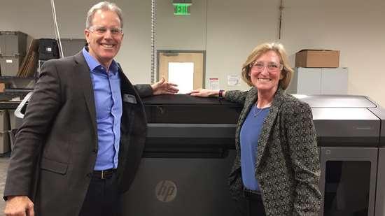 Stephen Nigro, HP, and Vicki Holt, Proto Labs