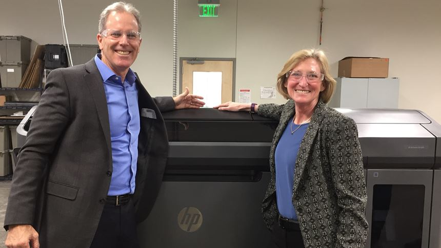 Stephen Nigro, HP, and Vicki Holt, Proto Labs