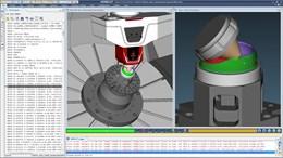 Additive module in Vericut modeling DMG MORI Lasercut machine