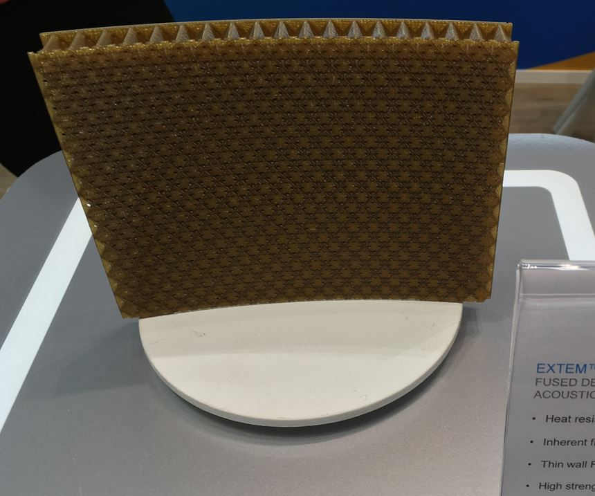 sabic extem high temperature polymer for 3D printing