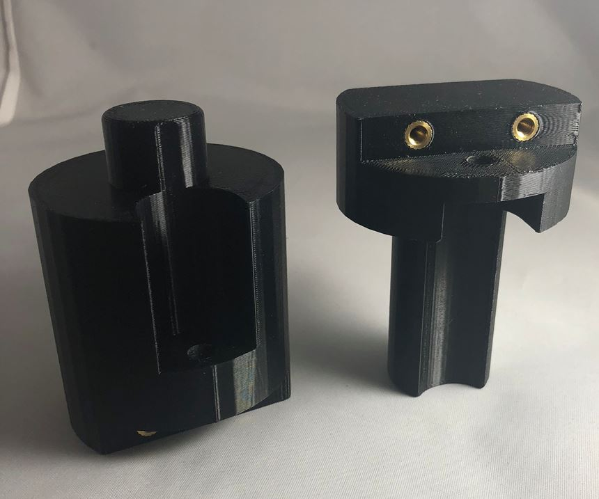 tooling component produced via Rize 3D printer