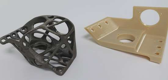 additive manufacturing bracket with original