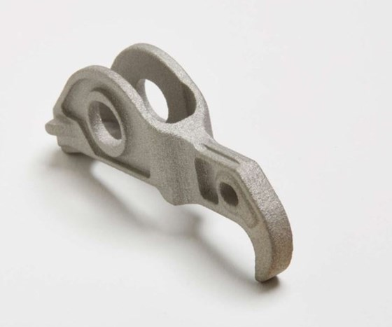 roller finger follower made via additive manufacturing on HP metal 3D printer