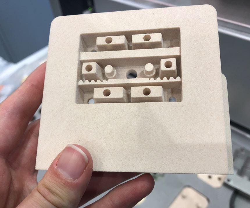 igus 3D-printed mold