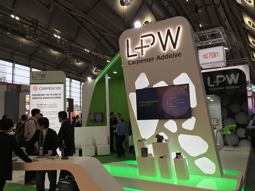 LPW booth at Formnext