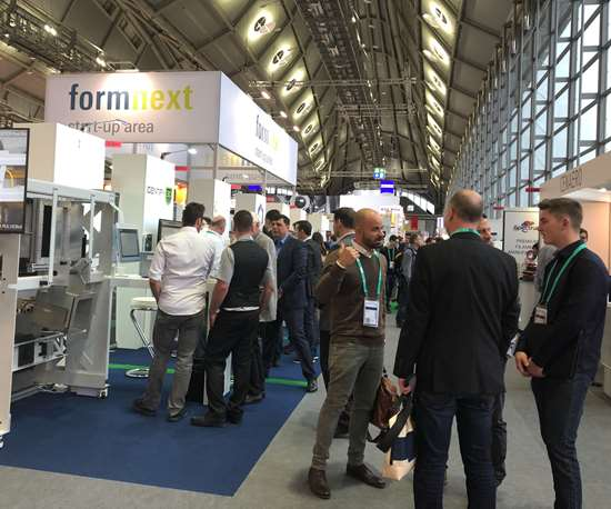 Startup Area at Formnext