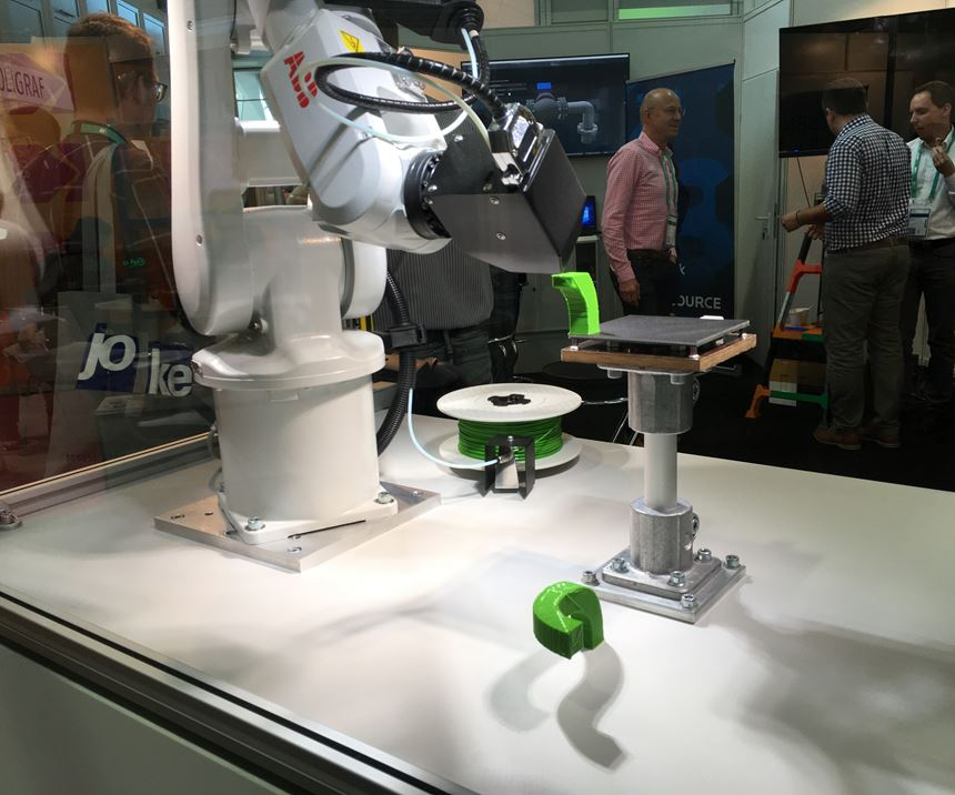 robot at Formnext 2018