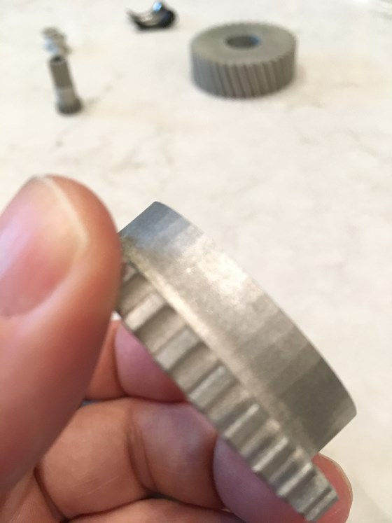 3d printed metal part by 3deo