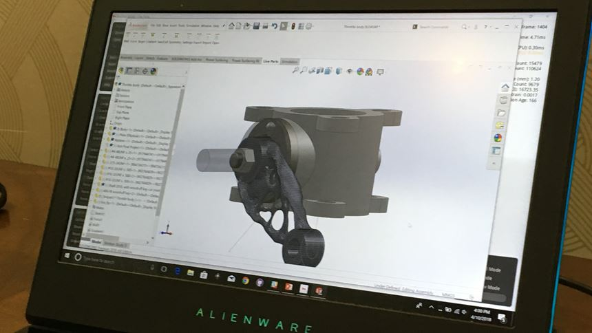 generative design software from desktop metal