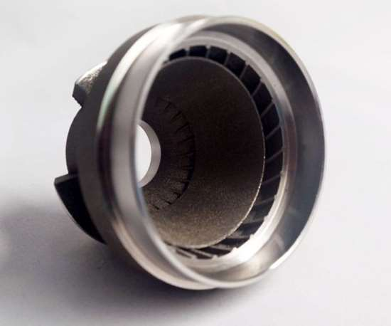 Metal 3D-printed aerospace fuel nozzle