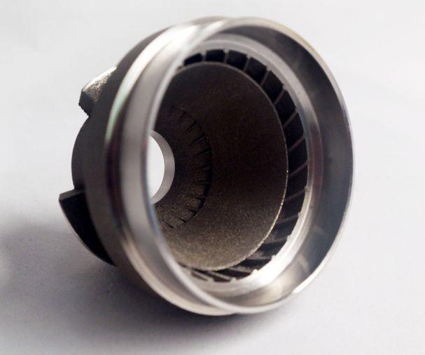 Metal 3D-printed aerospace fuel nozzle