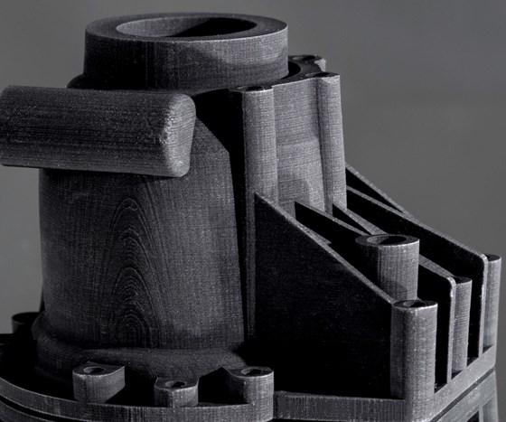STEP 3D-printed part