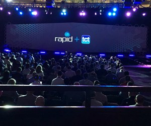 presentation stage at rapid + tct