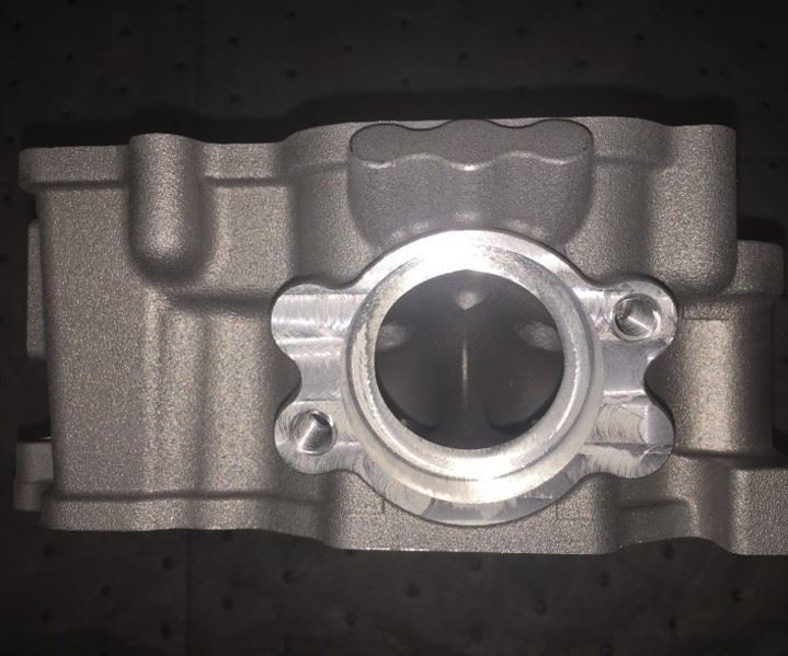 cylinder head intake port