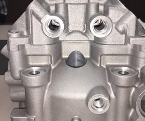 3D printed cylinder head