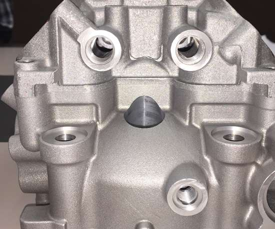3D printed cylinder head