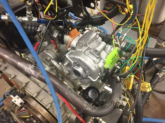 engine with printed cylinder head