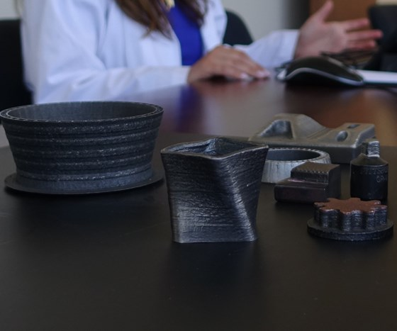 examples of parts made by laser metal deposition additive manufacturing