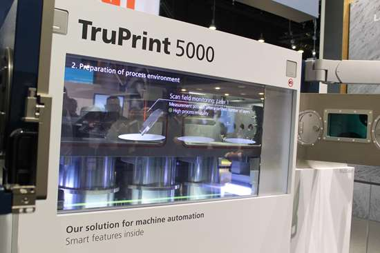 TruPrint 5000 at Formnext 2018